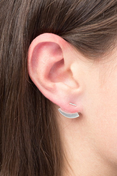 The Boyscouts Crescent Back Earring
