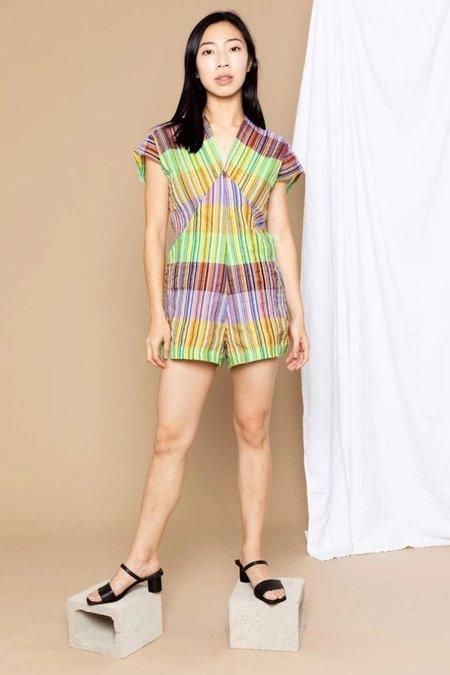 Conrado Julia Romper - Multicolor Stripes