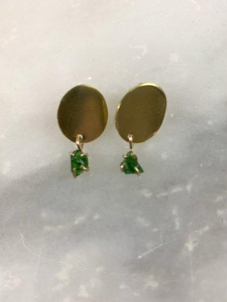 Alana Douvros Jewelry Shape Studs - Gold