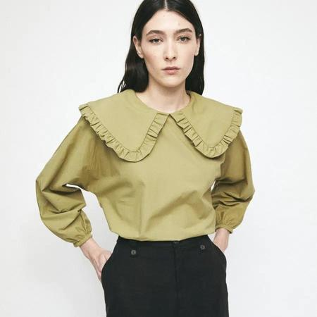 Rita Row Lila Shirt - Light Khaki