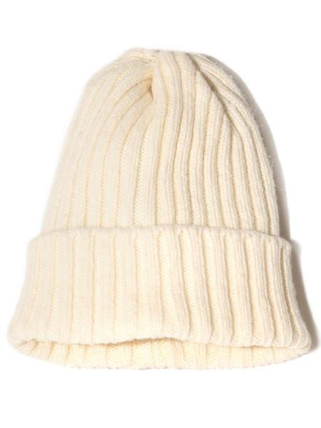 Beams Plus Wool Watch Cap - Natural