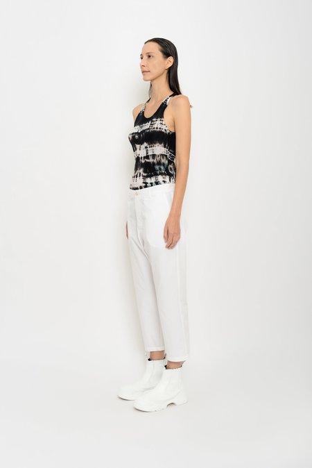 UMA Raquel Davidowicz Cuco Tailored Gabardine Trousers - Oat