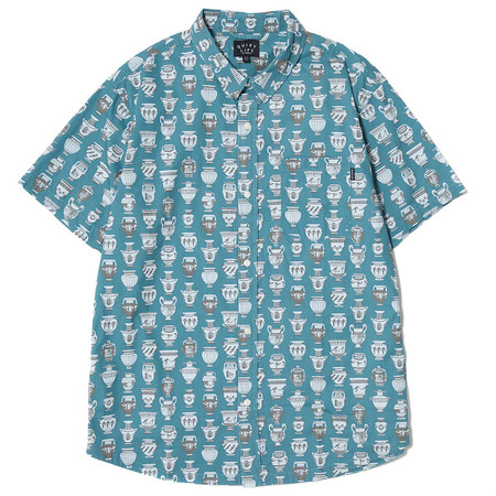 QUIET LIFE JONES BUTTON DOWN - BLUE
