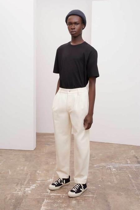UNISEX Kowtow Standard Jeans - greige denim