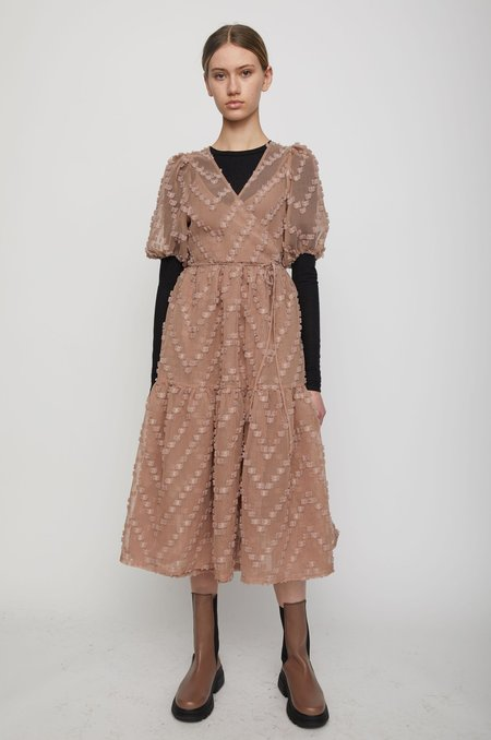 Just Female Lulu Dress - brownie