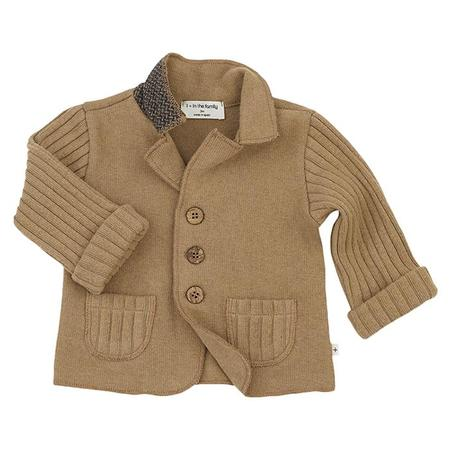 kids 1+ In The Family Baby And Child Cesar Brandy Blazer - Brown