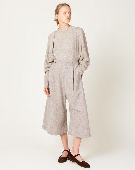 Lauren Manoogian Pleat Culottes PANTS - NATURAL