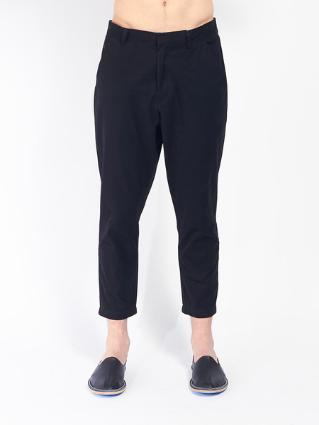 Journal Sea Pants Cropped Black