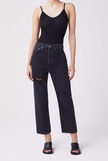 AGOLDE 90s Crop Mid Rise Jean - Shutter
