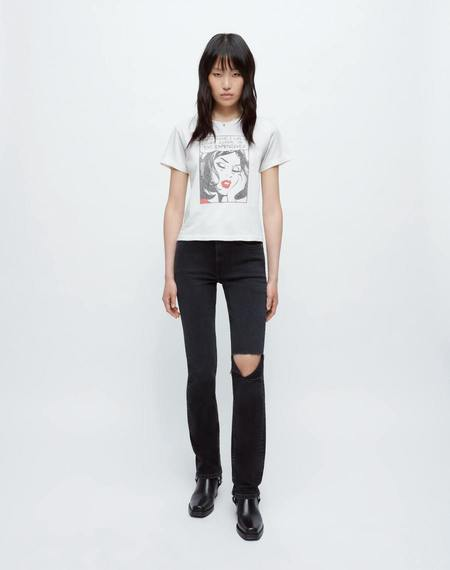 RE/DONE Classic Everything I Like Tee - white