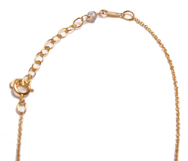 Sarah Dunn Gold Circle Necklace