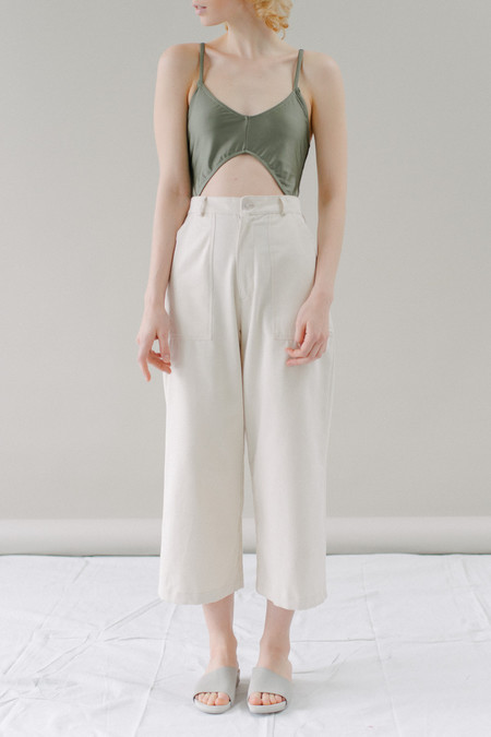 REIFhaus Mara Pant in Natural Denim
