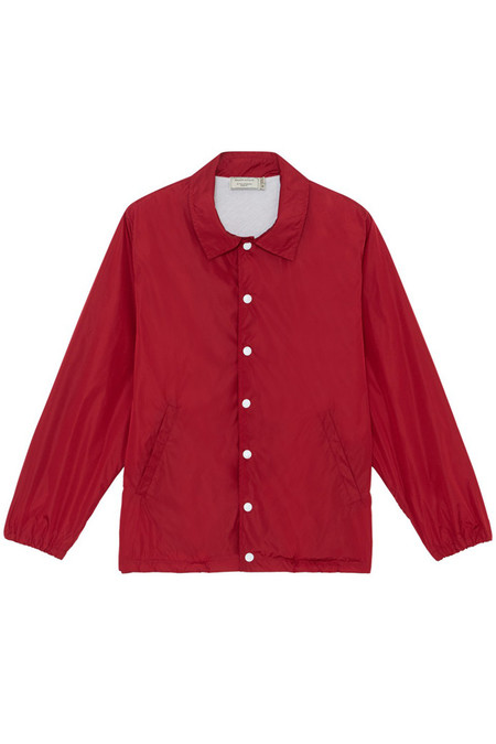 Kitsune Plain Bertil Windbreaker | Red