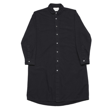 Unisex Olderbrother Long Shirt - Black Indigo