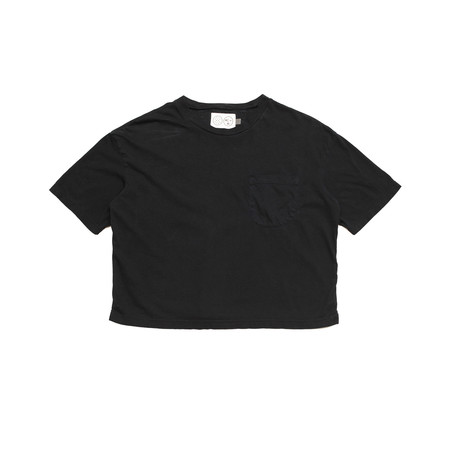 Olderbrother Short Tee - Black Indigo