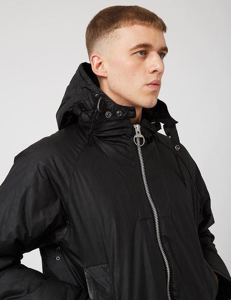 Barbour Scalpay Hunting Wax Jacket - Black