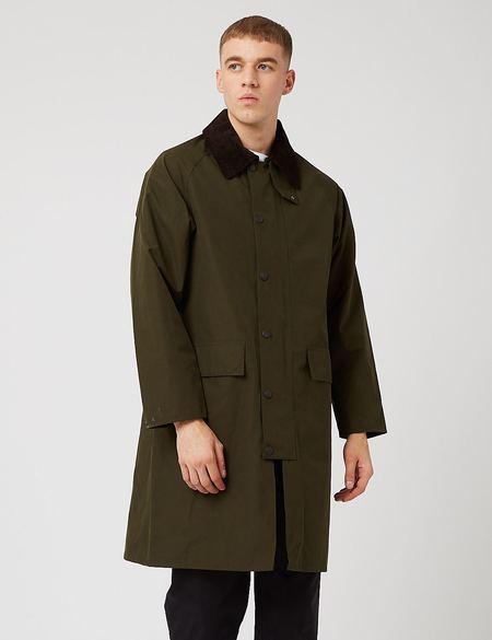 Barbour Waterproof Slim Burghley Jacket - Sage Green