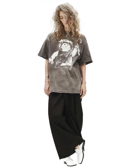 Saint Michael Printed T-shirt - Grey
