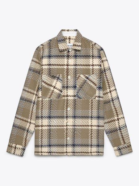 Wax London Whiting Beatnik Overshirt - Natural