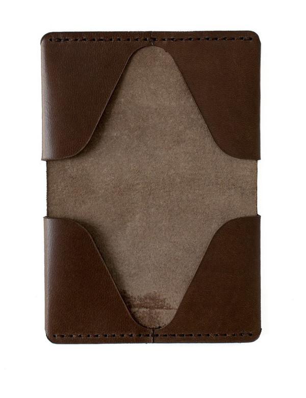 MAKR Horizon Four Wallet in Bark
