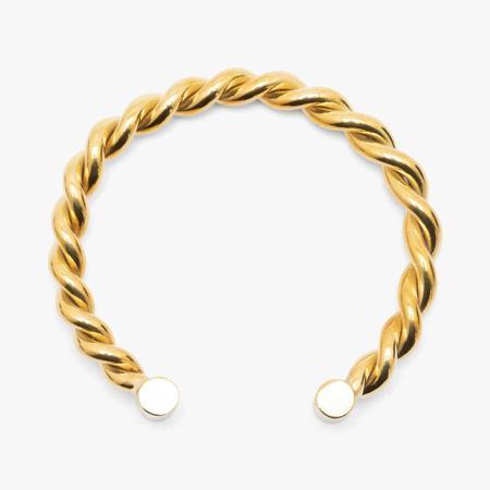 MAPLE House Bangle bracelet - gold