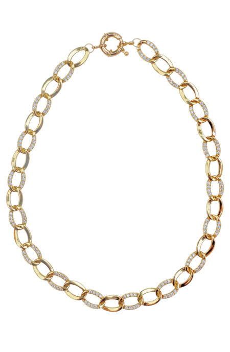 Serendipitous Project Twilight Necklace - 24k gold