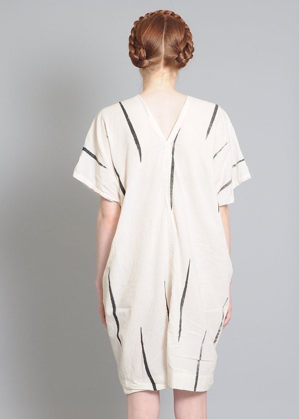 Uzi NYC V-Dress