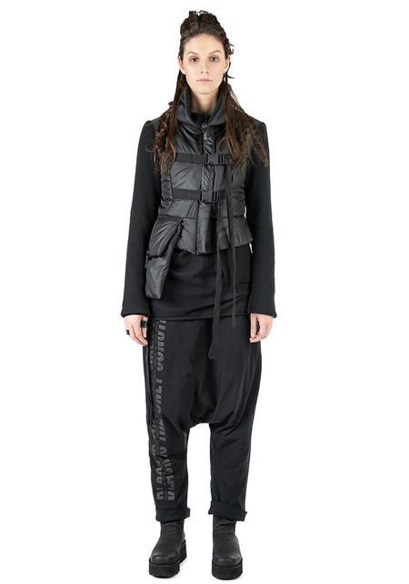 Studio B3 Natilee Paneled Jacket - CHROME/BLACK