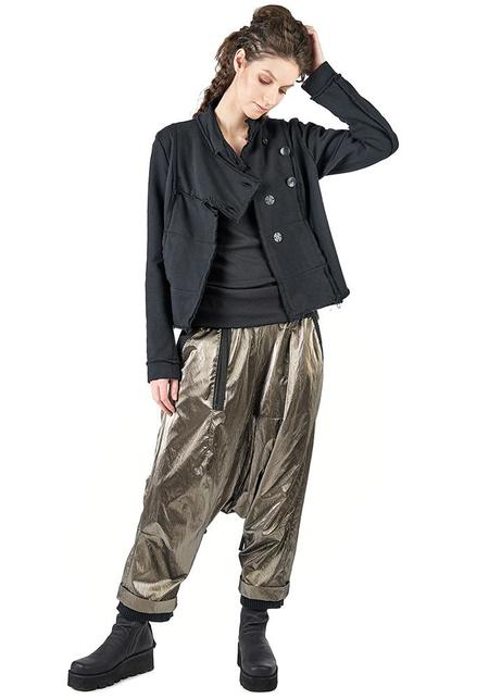 Studio B3 Savan Jersey Button Front Cardigan - Black