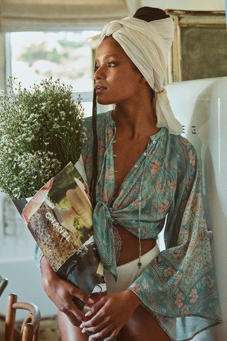 SPELL & THE GYPSY COLLECTIVE Farrah Blouse - Aqua