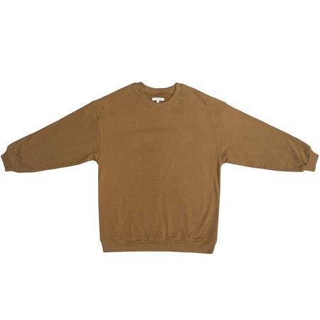 Ali Golden Oversized Sweatshirt - Copper