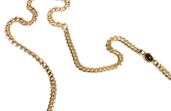 Timeless Treasures Lacquered Bead Chain Neckalce