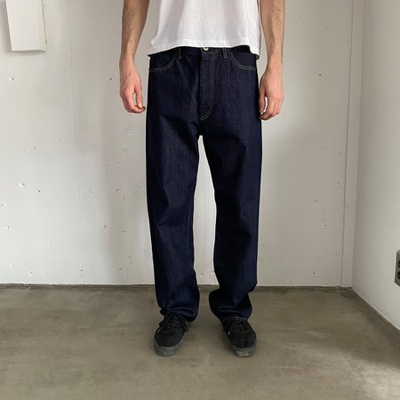 Still By Hand 5 Pocket denim pants - navy