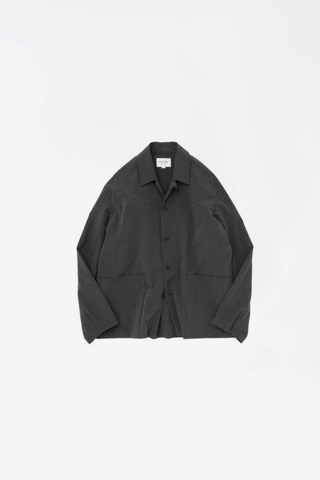 Still By Hand Layered nylon jacket - ink black