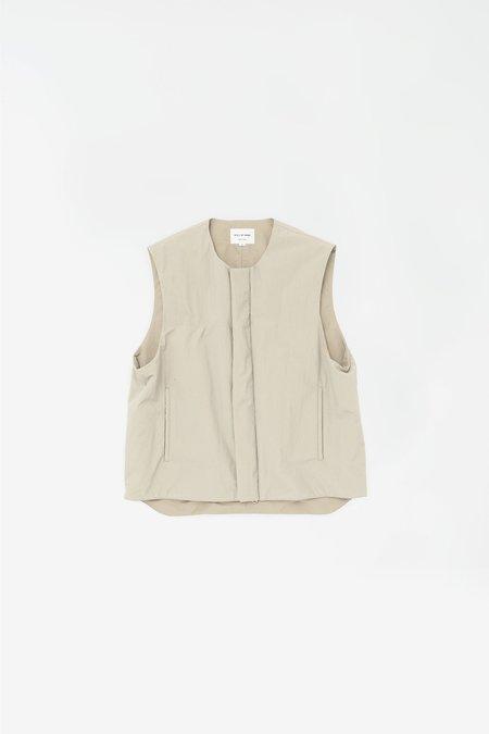 Still By Hand Padded nylon vest - beige