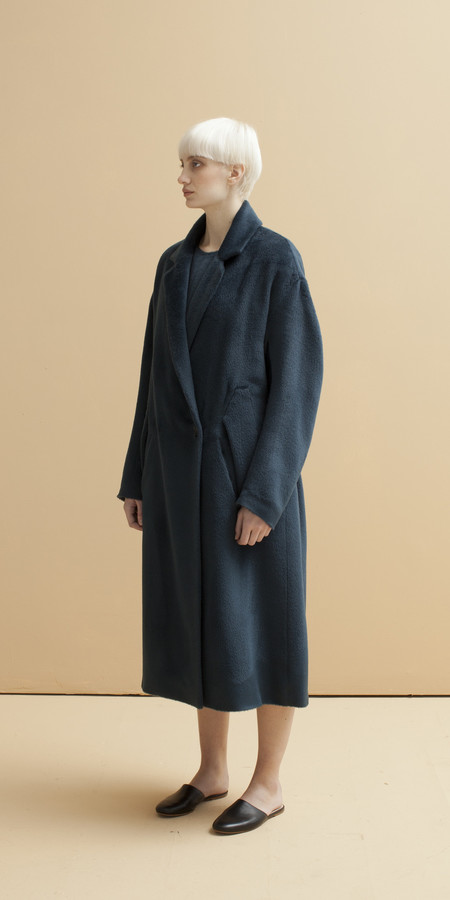 SCHAI Column Cape Coat