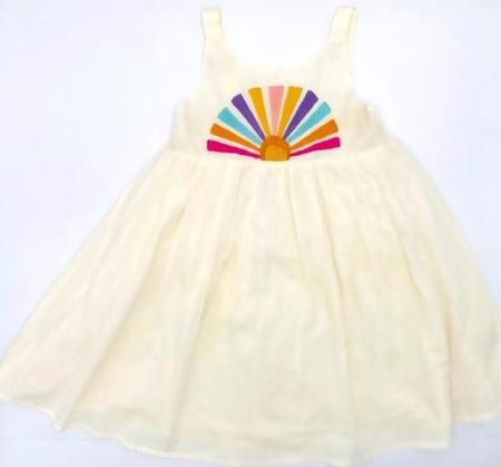 Kids Cheeni Misha Dress - Sun