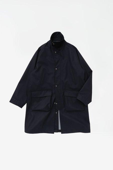 Still By Hand 3-layer field coat - dark navy