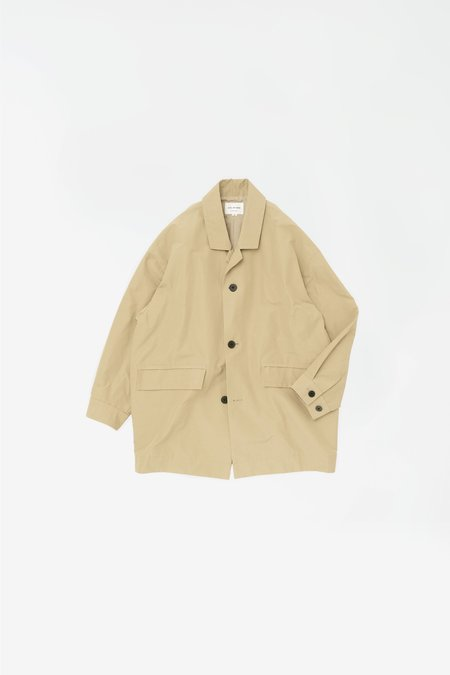 Still By Hand Cocoon coat - beige