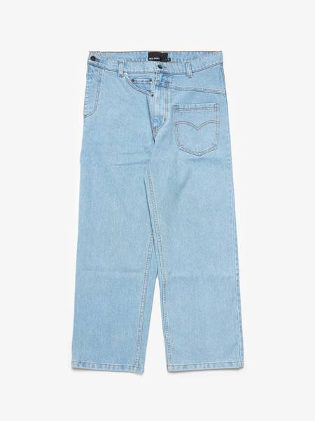 [Pre loved] RED SEPTEMBER  Extra Pockets Wide Jeans - Light Blue