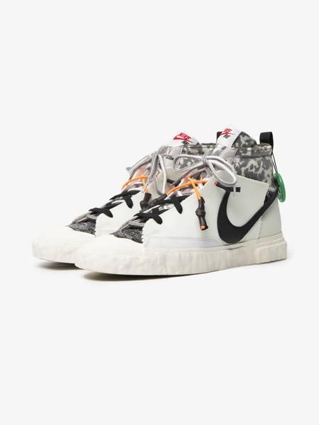[Pre loved] READYMADE X Nike Platinum Blazer Mid Sneakers - White