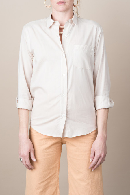 Jesse Kamm Georgio Button Down In Blush Stripe
