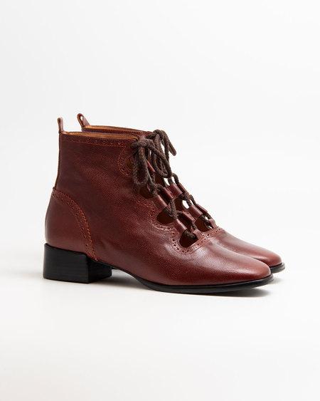 Naguisa Elur boots - Burgundy