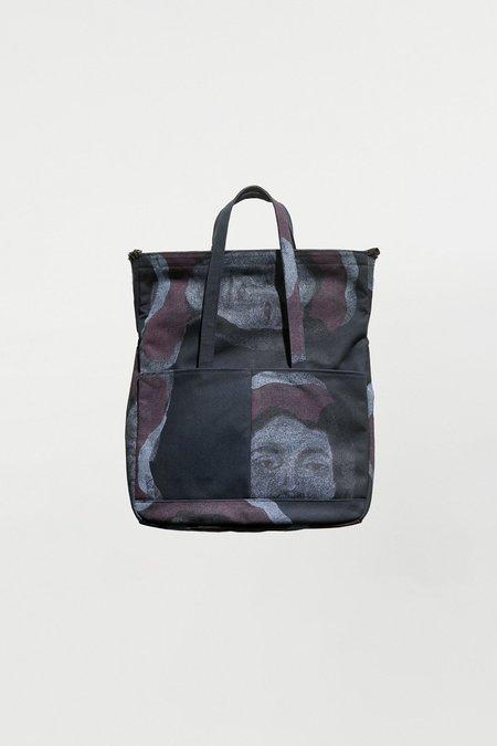 Schnayderman's  Fold weekender lady print bag - dark blue
