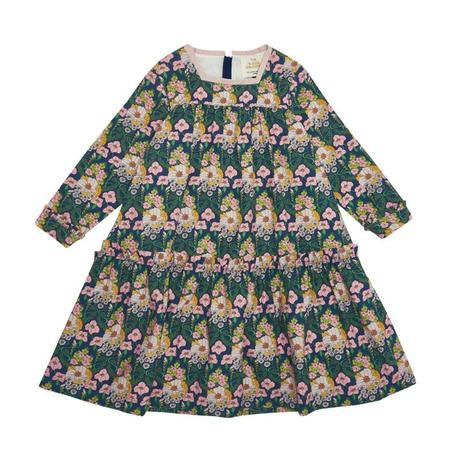 Kids The Middle Daughter Room To Grow Cotton Sateen Dress - Floral