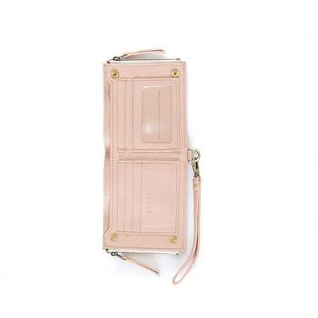Sapahn Noelle Billfold Wristlet Wallet - Blush Oil