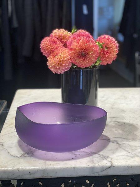 Jeff Goodman Topography Bowl - Hyacinth