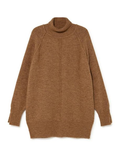 sita murt Tunic Sweater - Camel