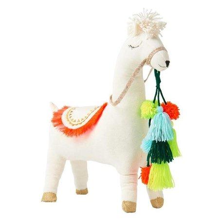 KIDS meri meri Hugo the Llama Doll - WHITE