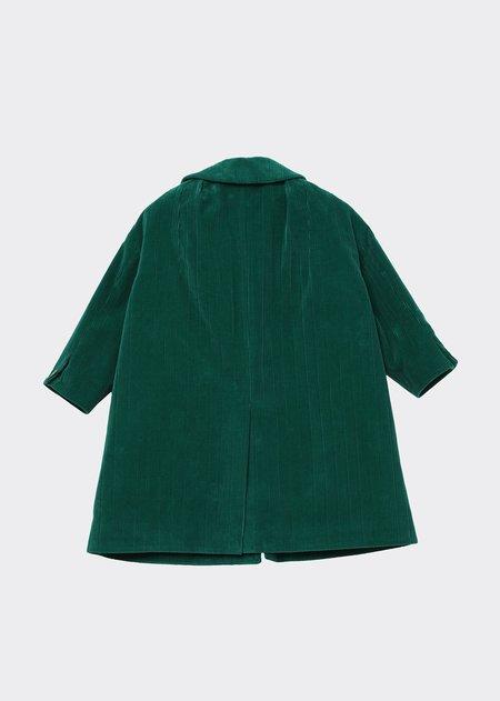 Kids Caramel Chee Coat - Emerald